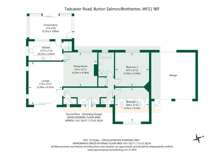 Tadcaster Road Brotherton Knottingley Wf11 0 Bed